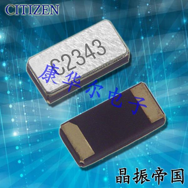 西铁城晶振,贴片晶振,CM1610H晶振,CM1610H32768DZFT晶振
