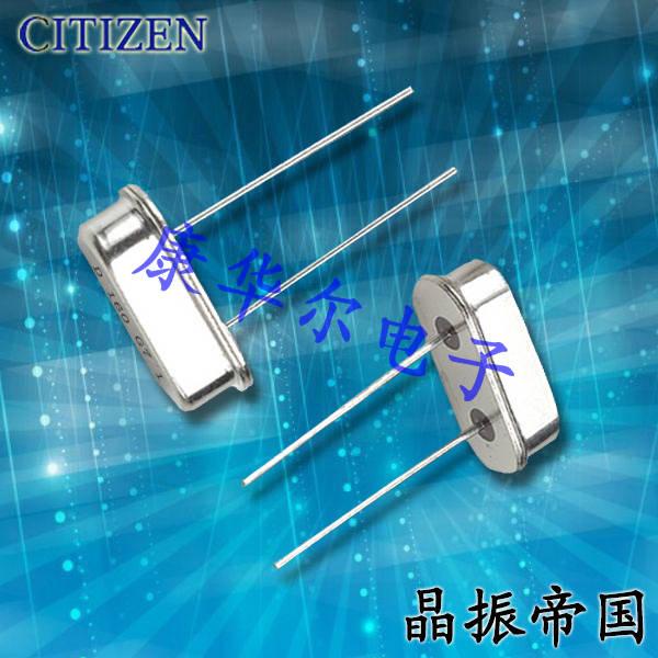 西铁城晶振,石英晶振,HC-49_U-S晶振,HC-49/U-S3579545BBIB晶振