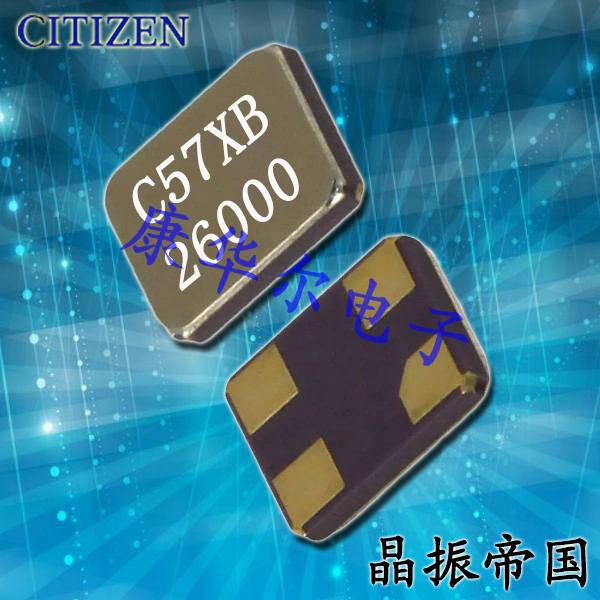 西铁城晶振,贴片晶振,CS325S晶振,CS325S24000000ABJT晶振