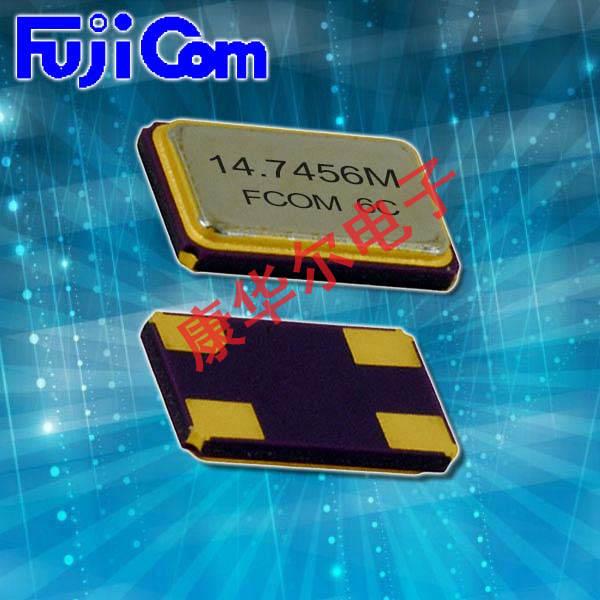 富士晶振,石英晶振,FSX-4M晶振,GPS进口四脚无源贴片晶振