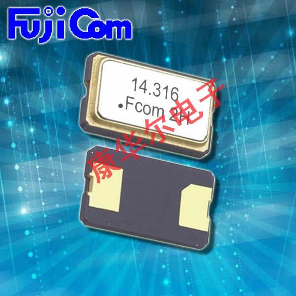 富士晶振,贴片晶振,FSX-5L5M晶振,小体积两脚贴片晶振