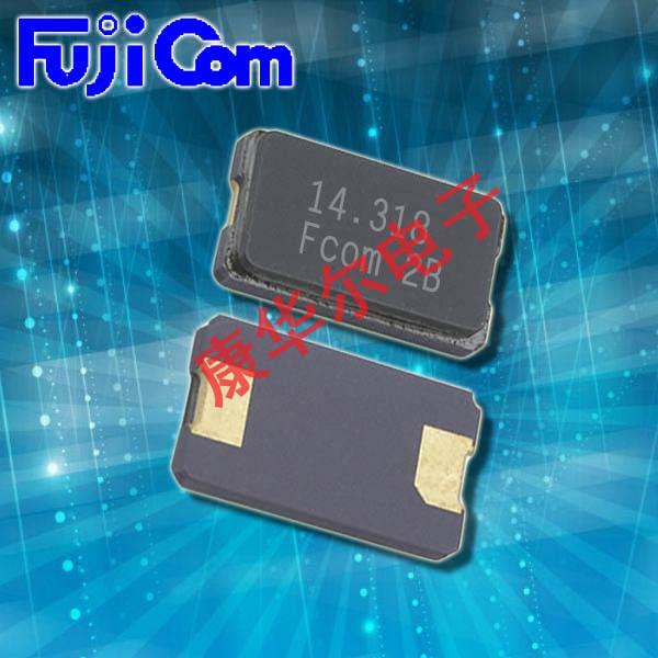 富士晶振,贴片晶振,FSX-8L晶振,二脚陶瓷面进口晶振