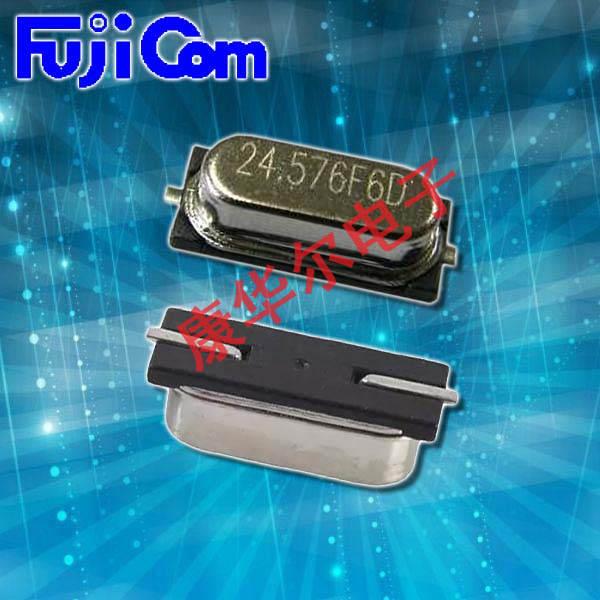 富士晶振,贴片晶振,HCM49S晶振,二脚无铅谐振器