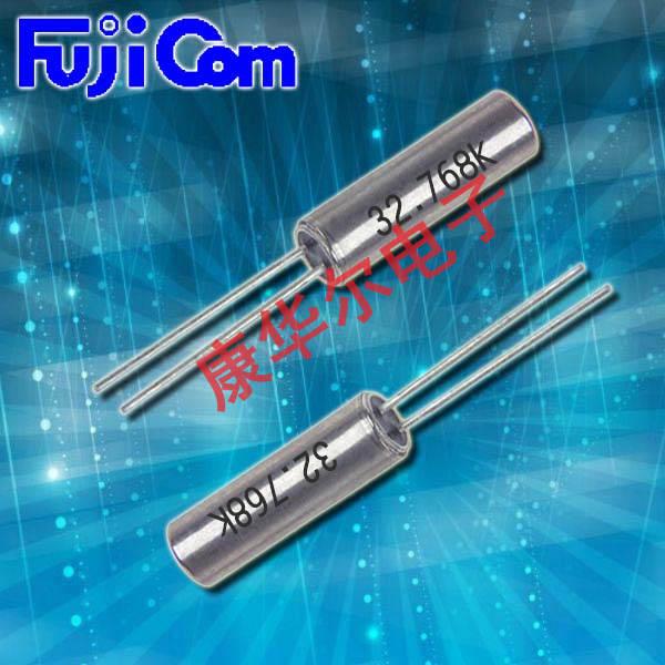 富士晶振,石英晶振,FTS-38晶振,两脚插件石英晶振