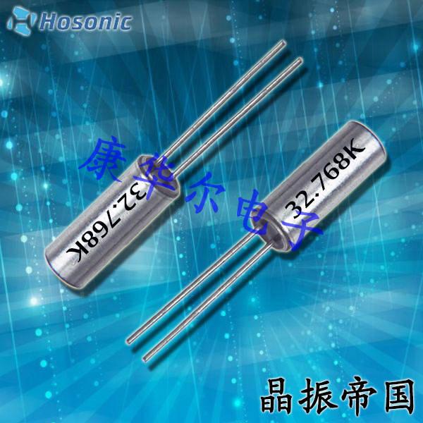 鸿星晶振,插件晶振,ETDB晶振,台产3*8圆柱插件晶振