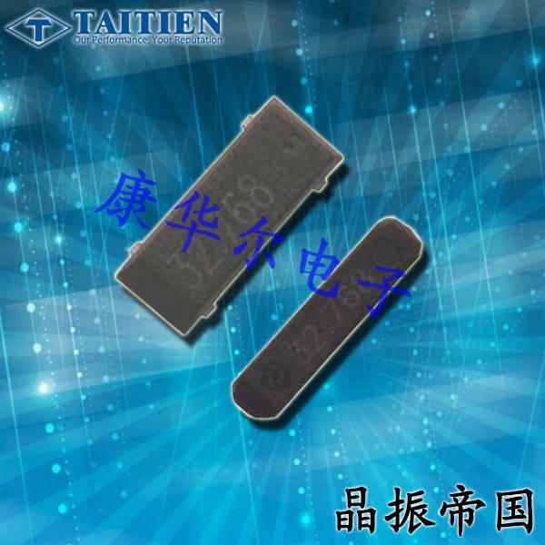 泰艺晶振,贴片晶振,XN8028晶振,台产8038音叉水晶谐振器
