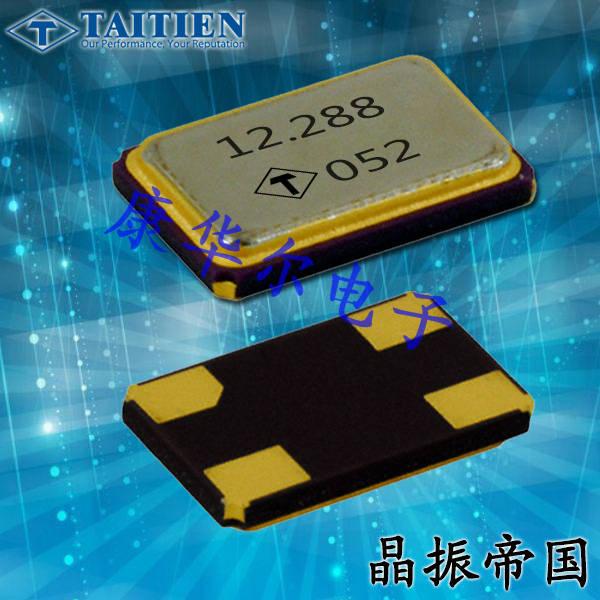 泰艺晶振,贴片晶振,XR晶振,金属面微型贴片四脚晶振