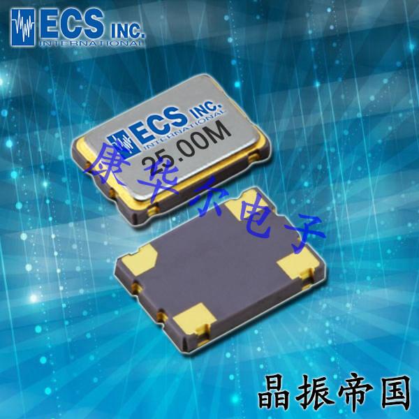 ECS晶振,贴片晶振,ECX-1048B晶振,ECS-480-8-48-CKY-TR晶振