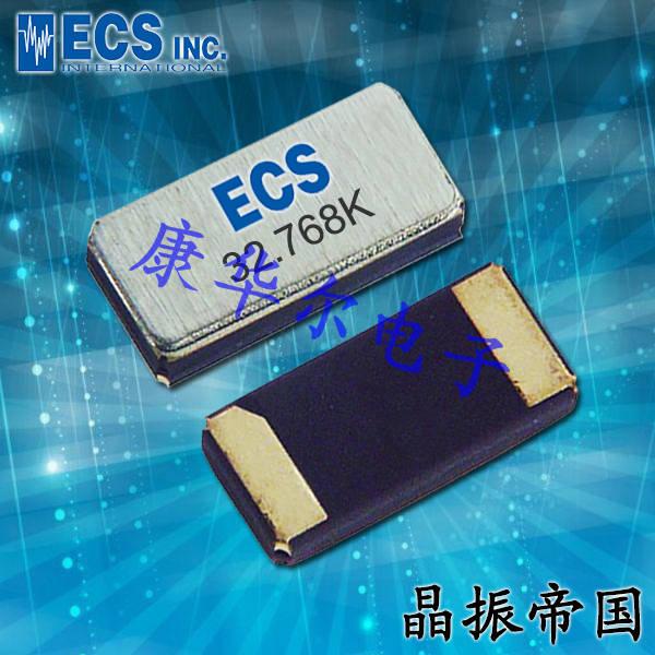 ECS晶振,贴片晶振,ECX-34RR晶振,ECS-.327-12.5-34RR-TR晶振