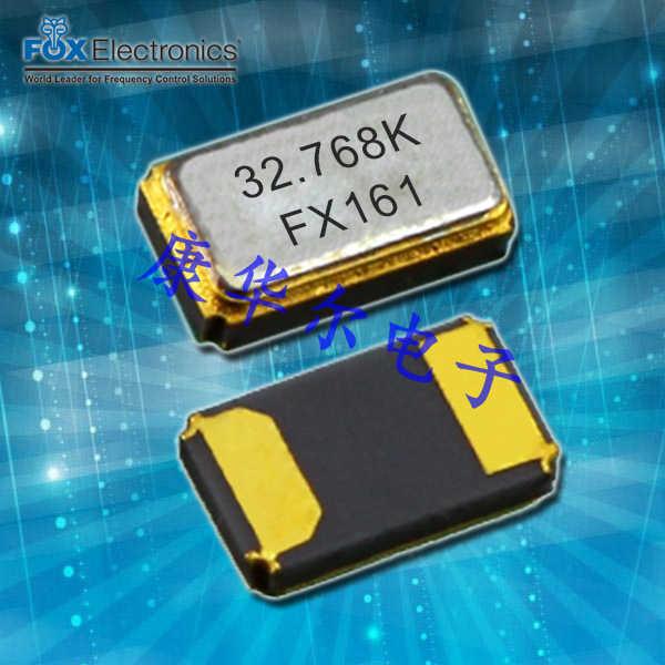 FOX晶振,贴片晶振,K161晶振,FK161EIHM0.032768晶振