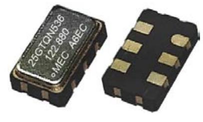 玛居礼晶振,压控晶振,GTQN326晶振,金属面六脚贴片晶振