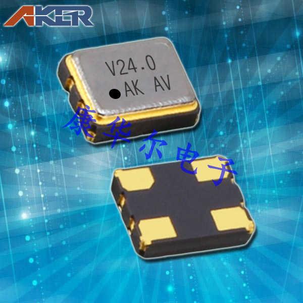 AKER晶振,有源晶振,SMHN-321晶振,OSC3225四脚贴片晶振