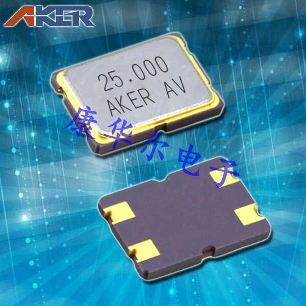 AKER晶振,贴片晶振,CXAN-751晶振,金属面封装四脚晶振
