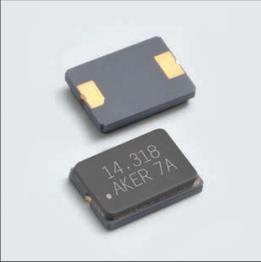 AKER晶振,贴片晶振,CXCN-631晶振,6035陶瓷面封装晶体谐振器