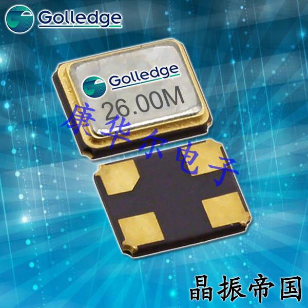 Golledge晶振,贴片晶振,GRX-210晶振,无铅晶振